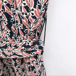 LOFT Dresses - LOFT floral print faux wrap sleeveless dress 213